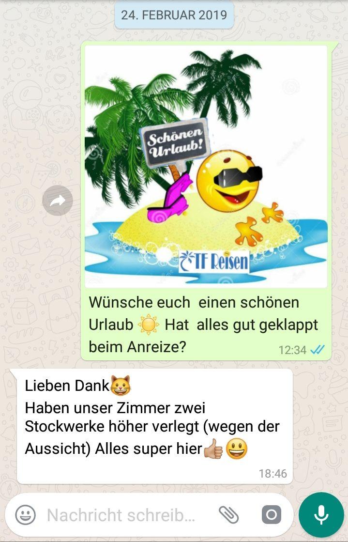 Whatsapp wünschen schönen urlaub per Einen Schönen